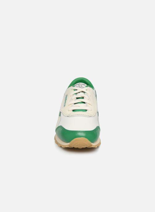 Baskets Reebok Reebok x TAO Cl Nylon J Vert vue portées chaussures