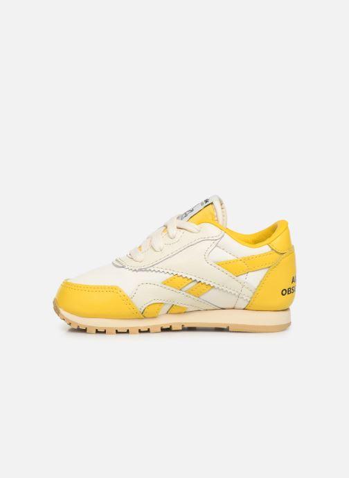 Sneakers Reebok Reebok x TAO Cl Nylon I Geel voorkant