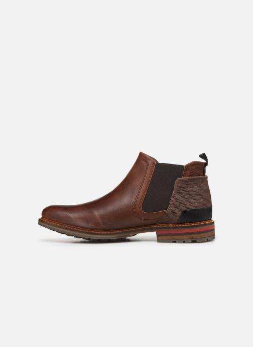 Boots en enkellaarsjes Bullboxer DYLAN Bruin voorkant