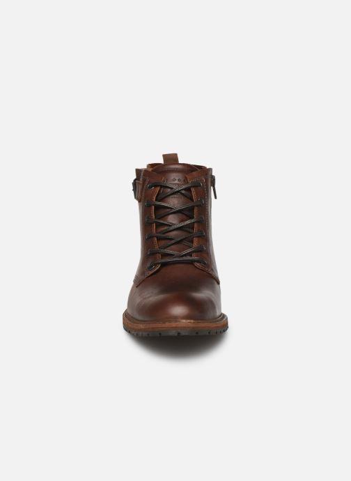 Bottines et boots Bullboxer FOLLOW UP Marron vue portées chaussures