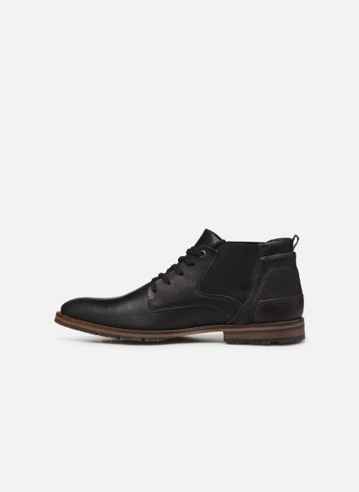 Boots en enkellaarsjes Bullboxer ELVIS Zwart voorkant