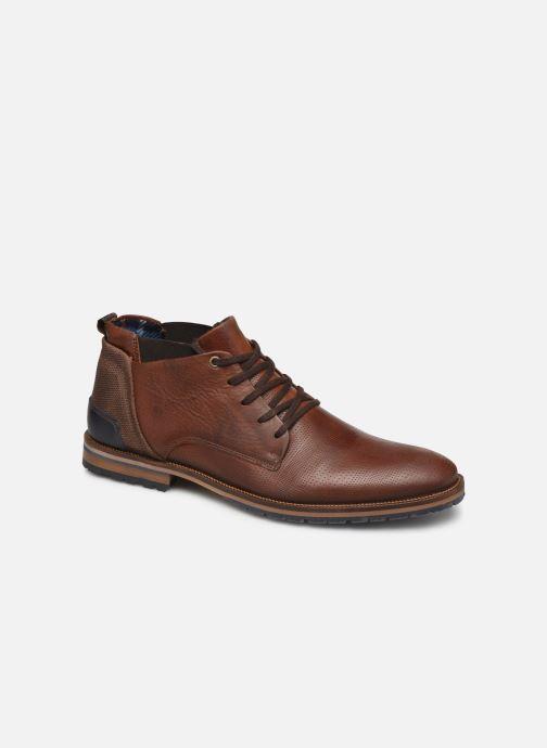 Boots en enkellaarsjes Bullboxer ELVIS Bruin detail