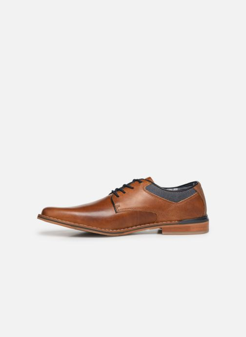 Lace-up shoes Bullboxer JONAS2 Brown front view