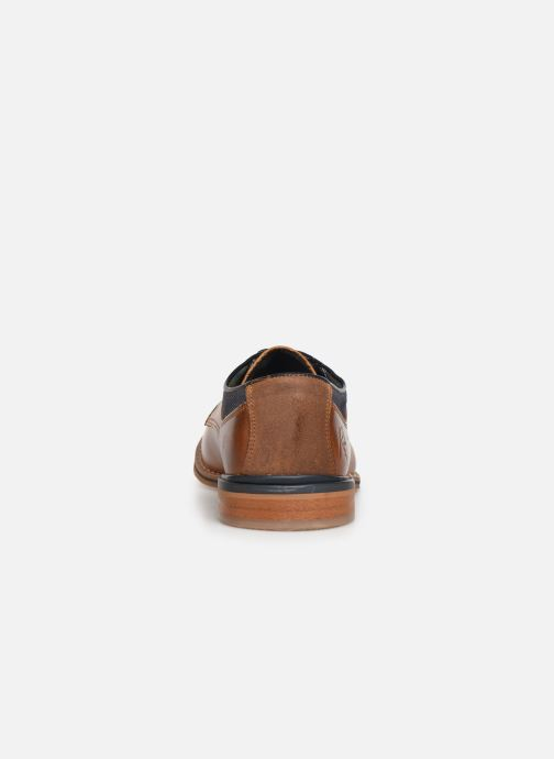 Lace-up shoes Bullboxer JONAS2 Brown view from the right