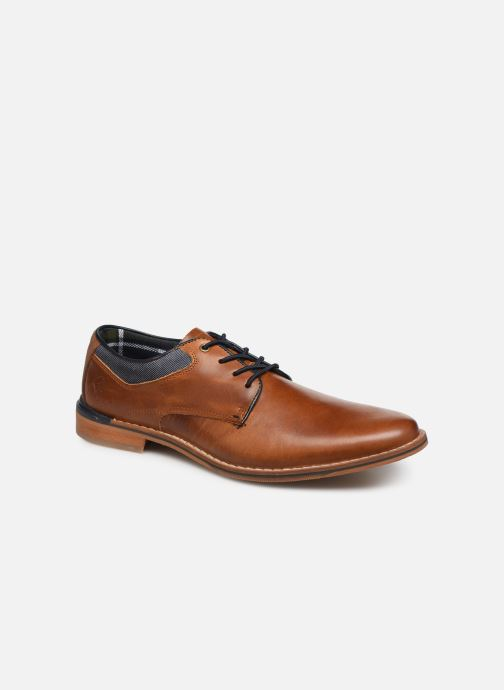 Lace-up shoes Bullboxer JONAS2 Brown detailed view/ Pair view