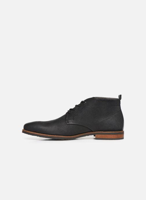 Boots en enkellaarsjes Bullboxer ARON Zwart voorkant