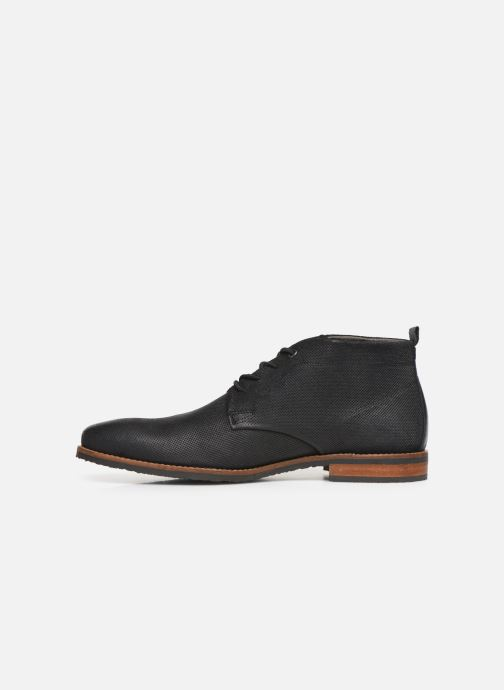 Stiefeletten & Boots Bullboxer ARON schwarz ansicht von vorne
