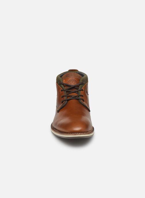 Bottines et boots Bullboxer FRED Marron vue portées chaussures