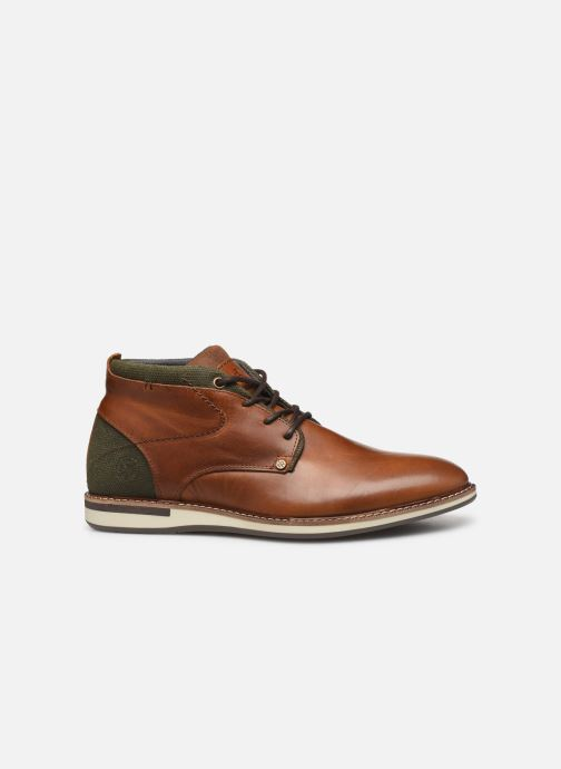 Ankle boots Bullboxer FRED Brown back view