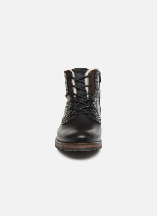 Bottes Bullboxer GARY Noir vue portées chaussures