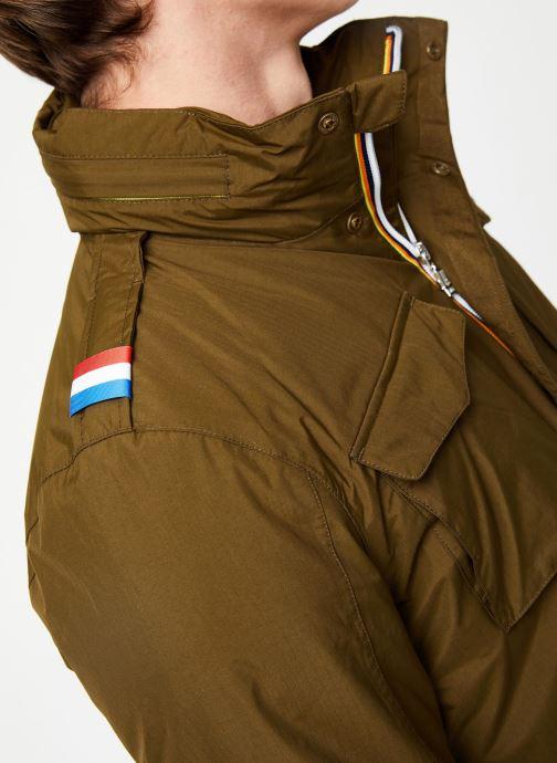 Vêtements K-Way  MANFIELD RIPSTOP MARMOTTA C Vert vue face