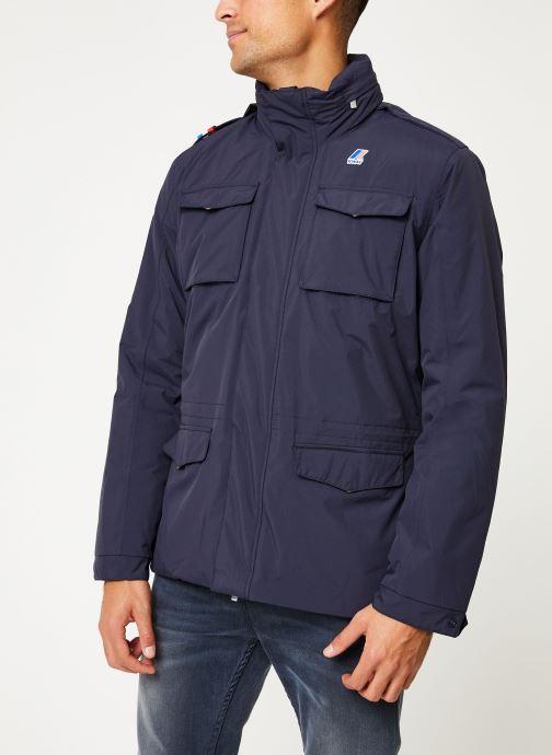 Vêtements K-Way  MANFIELD RIPSTOP MARMOTTA C Bleu vue droite