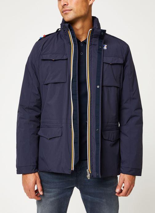 Vêtements K-Way  MANFIELD RIPSTOP MARMOTTA C Bleu vue détail/paire