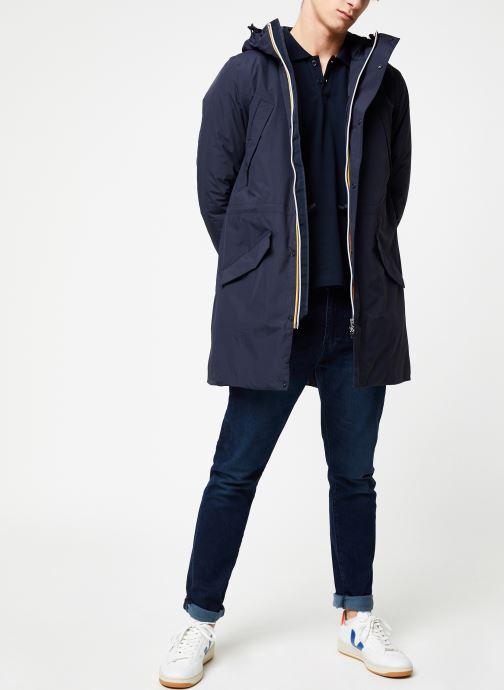 Vêtements K-Way  REMI RIPSTOP MARMOTTA C Bleu vue bas / vue portée sac