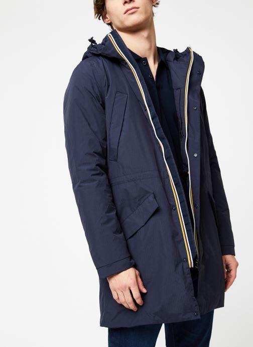 Vêtements K-Way  REMI RIPSTOP MARMOTTA C Bleu vue détail/paire