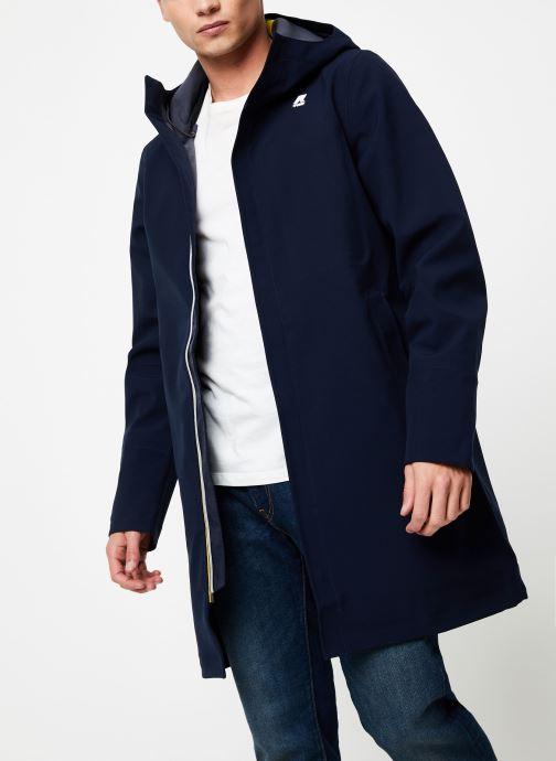Vêtements K-Way  THOMAS BONDED C Bleu vue droite