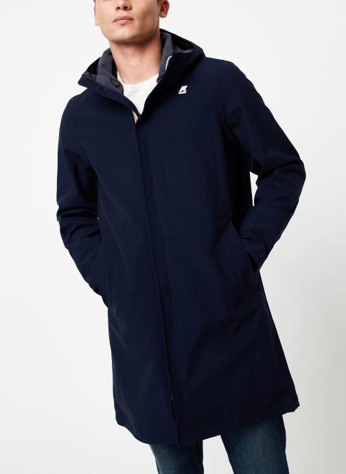 Vêtements K-Way  THOMAS BONDED C Bleu vue détail/paire