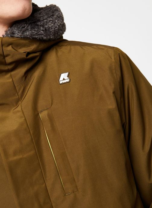 Vêtements K-Way  THIMOTY WARM SEAL C Vert vue face