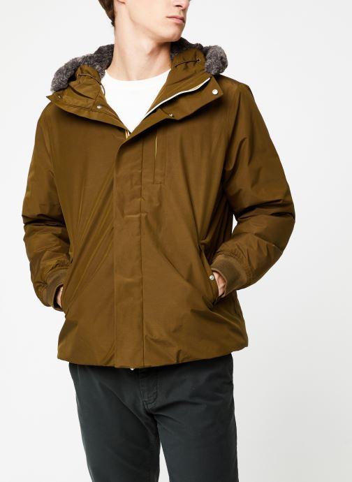 Vêtements K-Way  THIMOTY WARM SEAL C Vert vue détail/paire