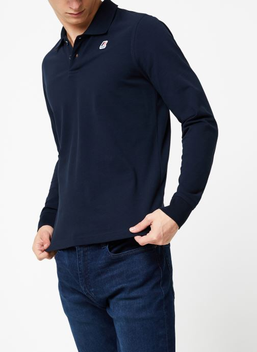 Vêtements K-Way  ROCHEL STRETCH C Bleu vue droite