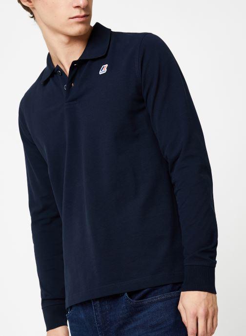 Vêtements K-Way  ROCHEL STRETCH C Bleu vue détail/paire
