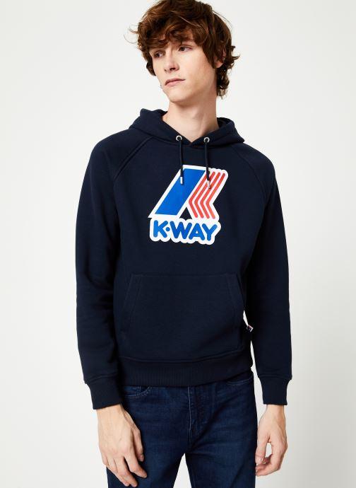 Vêtements K-Way  LOKI MACRO LOGO C Noir vue droite