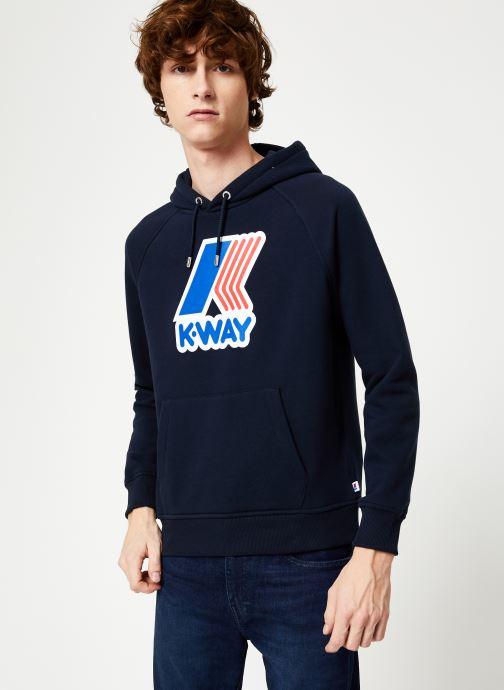 Vêtements K-Way  LOKI MACRO LOGO C Noir vue détail/paire