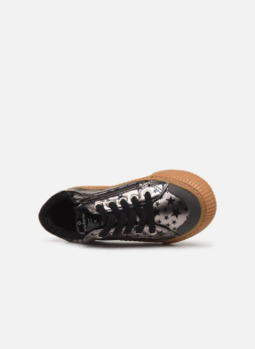 Sneakers Victoria Deportivo Metalizado Es Zilver links