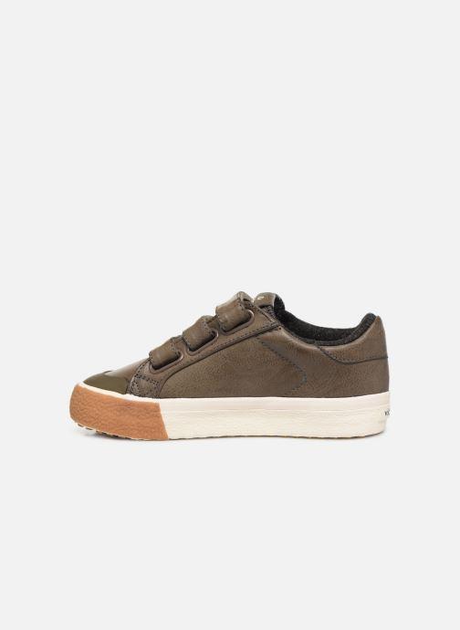 Sneakers Victoria Tribu Baket Velcros Pu/B Grijs voorkant