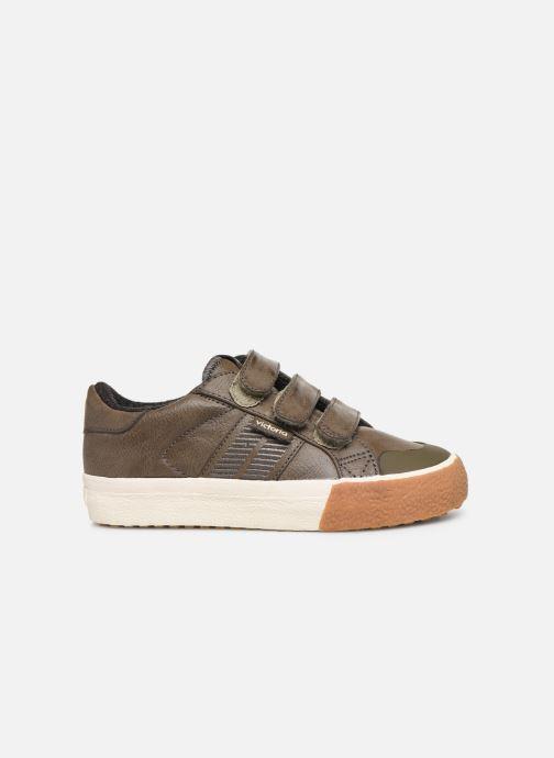 Sneakers Victoria Tribu Baket Velcros Pu/B Grijs achterkant
