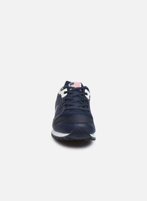 Baskets Polo Ralph Lauren Oryion Bleu vue portées chaussures