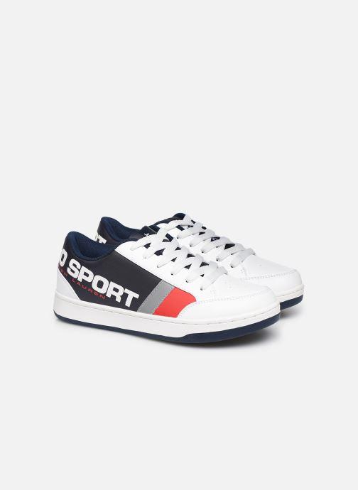 Sneakers Polo Ralph Lauren Belden Wit 3/4'