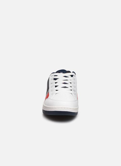 Baskets Polo Ralph Lauren Belden Blanc vue portées chaussures