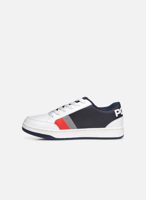 Sneakers Polo Ralph Lauren Belden Wit voorkant