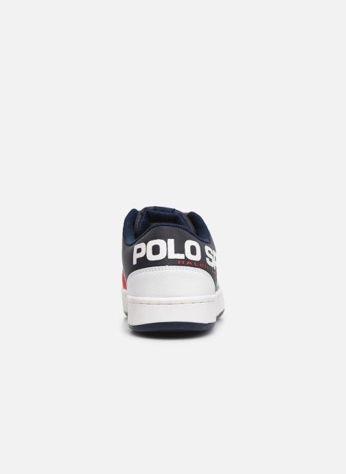 Sneakers Polo Ralph Lauren Belden Wit rechts