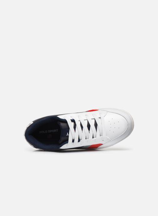 Sneaker Polo Ralph Lauren Belden weiß ansicht von links