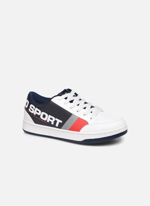 Sneakers Polo Ralph Lauren Belden Wit detail