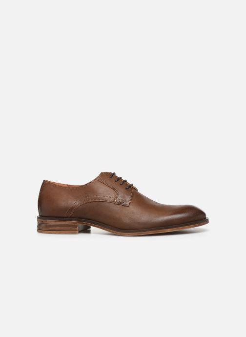 Chaussures à lacets Bianco BIABYRON LEATHER DERBY 52-71678 Marron vue derrière