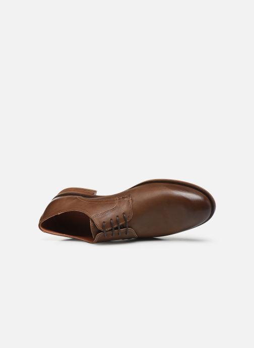 Chaussures à lacets Bianco BIABYRON LEATHER DERBY 52-71678 Marron vue gauche