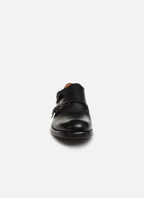 Loafers Bianco BIAACE DOUBLE MONK 52-71760 Black model view