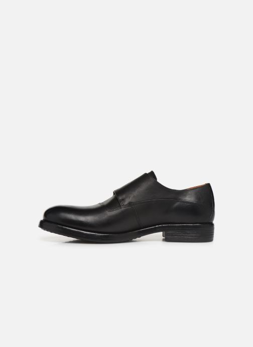 Loafers Bianco BIAACE DOUBLE MONK 52-71760 Black front view