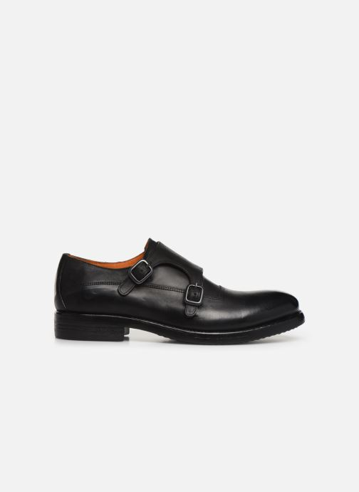 Loafers Bianco BIAACE DOUBLE MONK 52-71760 Black back view