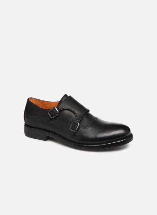 Loafers Bianco BIAACE DOUBLE MONK 52-71760 Black detailed view/ Pair view