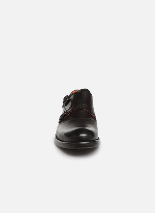 Mocassins Bianco BIAACE DOUBLE MONK 52-71760 Marron vue portées chaussures