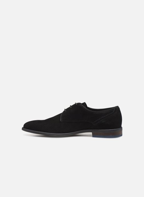 Lace-up shoes Bianco BIACHESTEREFFECT DERBY 52-71785 Black front view