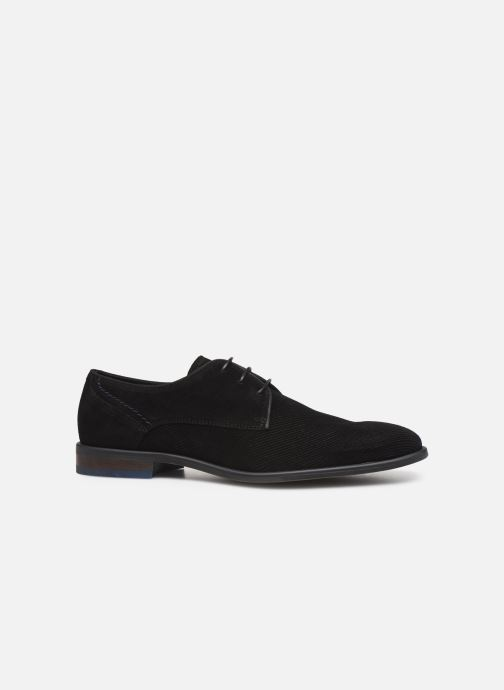 Lace-up shoes Bianco BIACHESTEREFFECT DERBY 52-71785 Black back view