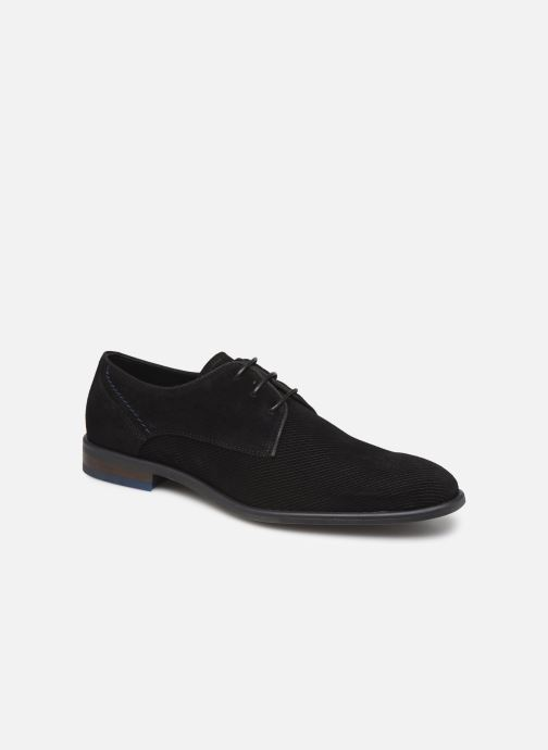 Lace-up shoes Bianco BIACHESTEREFFECT DERBY 52-71785 Black detailed view/ Pair view