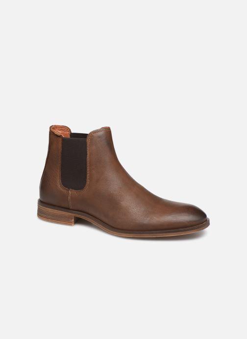 Ankelstøvler Bianco BIABYRON LEATHER CHELSEA 56-71676 Brun detaljeret billede af skoene