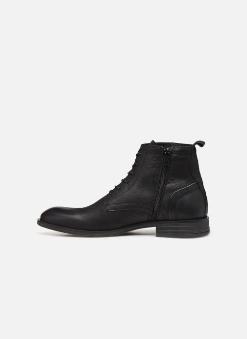 Bottines et boots Bianco BIABYRON LEATHER LACE UP BOOT 56-71692 Noir vue face
