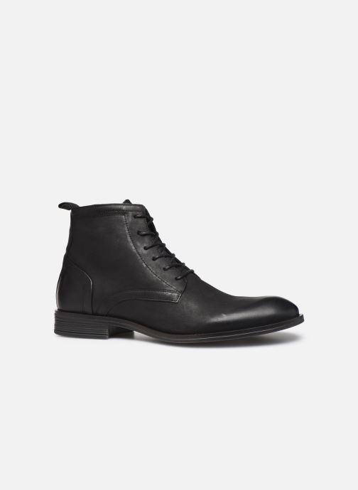 Bottines et boots Bianco BIABYRON LEATHER LACE UP BOOT 56-71692 Noir vue derrière